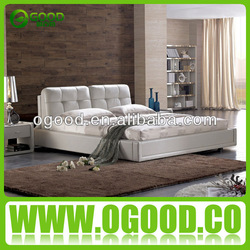 2014 Fashion Design Double Decker Leather Bed Set Ob133 - Buy ...