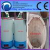Di sollevamento forno di carbonizzazione guscio di noce di cocco/legno/bambù/guscio di mandorla/Palm guscio di 0086- 13676938131)