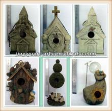 stylish hanging birdhouse