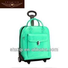 big trolley rolling trolley lady trolley suitcase luggage upright