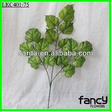 Decorative green wholesale artificial grape leaves