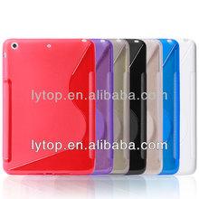 2014 HOt Selling Dual Color Soft TPU Case for iPad Mini 2