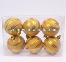 2014 Golden modello fai da te di natale palla