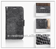 China manufacturer leather cell phone smart cover for Samsung NOTE 3 i9500