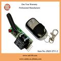 Zkh+zy1- 2, tiny dc12v, 1ch, código fijo, canal 1 interruptor remoto, pequeño receptor inalámbrico controlador de kits de
