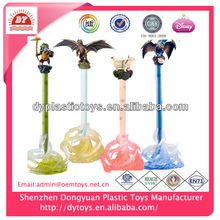 2014 New Fashion Design stationery toys,plastic cartoon pen ,best toys for kids