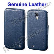 HOCO Duke Series Side Flip Genuine Leather Case for Samsung I9500 Galaxy S4