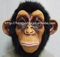 huizhou 2014 venta caliente nuevo realista lindo mascota gorila de látex de vestuario