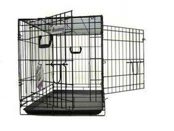 Pet Tek DPK86003 Dream Crate Professional Series 300 Dog Crate, 30 by 19 by 22-Inch, Black
