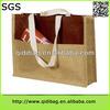 Hot-sale high-end plastic handle stain zipper bag