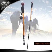 Carbonlite Anti Shock Hiking / Walking / Trekking Camera Poles, 3 Sections 25/53 Inches Long, Camera Mount