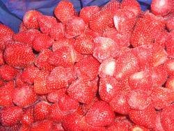 frozen strawberryGrade A