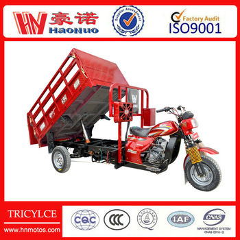 hydraulic lifting tricycles cargo tricycle to transport
