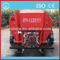 China new type potato planter with mulch applicator