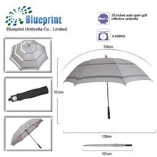 white sun best customized reflective aluminum umbrella