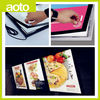 Magnet Fast Food Resturant Menu Board Slim Light Box