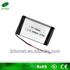 2014 high capacity 835085 3.7v 4000mah rechargeable li-polymer battery 3.7v 4000mAah,tablet pc 4000mAh battery