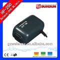 Ampla utilização SUNSUN 1.8L / min 2.5 W bomba de ar oxigênio aquário