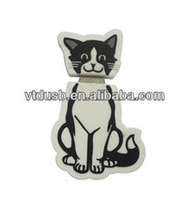 Black cats flash memory disk for in customized shape