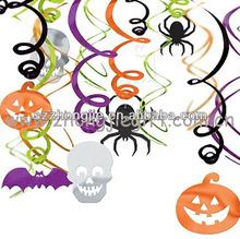 new design halloween whirls decorations