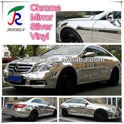 jaguar x-type front grill / jaguar x-type / silver chrome vinyl wrap