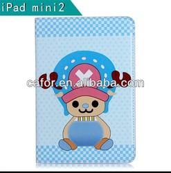 cartoon leather case for ipad mini 2 colorful