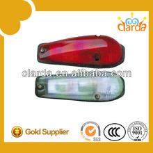 bus visor led warning light