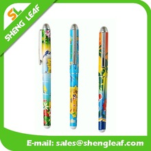 Sublimation printed plastic pen with holes