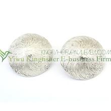 Hot sale fashion women jewelry fashion women round earrings!! Simple design alloy fashion women round earrings bulk buy!!