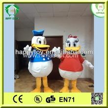 Hi CE de la alta calidad de la venta superior donald duck traje de la mascota para adultos