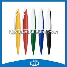 Printed With Your Logo Multicolor Plastic Ball Pen for Advertising