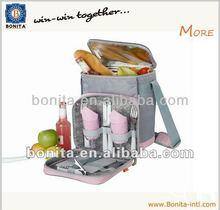 Newest promotional solar powered bottle cooler bag