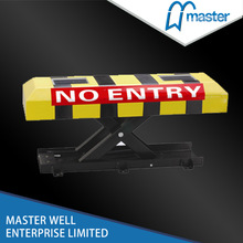 Waterproof automatic solar parking reserved lock