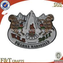 Iron metal animal enamel fancy lapel pins