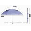 double layers plain golf umbrella