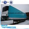semi-refrigerated fiberglass truck trailer