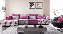 Trend fabric bright color furniture sofa