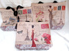PARIS POSTALE CHIC LADY BUTTERFLY SHOPPING BAG IN QUALITY PVC NEW