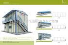 Durable economic concrete modular homes