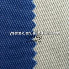 EN11612 100% Cotton durable antifire twill fabric used for antifire workwear