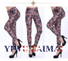2014 vintage USA american flag printed vetement femme legging sexy denim jumpsuit gothic tights ladies leggings indian trouser