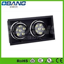 rectangular Squre,dmx rgb led downlight OB-ceiling88010