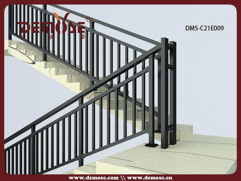 Exterior Powder Coated Aluminium Handrail Systems Buy Aluminium Handrail Sy