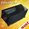 gran 70a cargador de corriente lcd offgrid universal del coche inversor