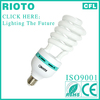 2013 china hot tube E27 base T4 14mm 45W half spiral power saving CFL parts light