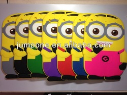 Despicable Me 2 Minions 3d silicone soft Case Cover For Apple iPad 5 5th air