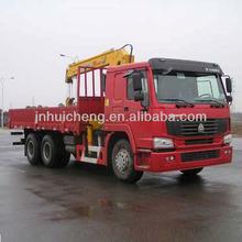 howo 4x2 Truck Mounted crane/ howo crane truck/truck mounted crane