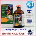 Melhor qualidade antipirético analgésicos Metamizole de sódio para o gado
