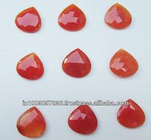 New Arrival 2015 natural carnelian loose heart shape cabochon carnelian cut cabochon gemstone
