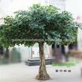 atacado paisagismo artificial indoor verde natural de madeira do tronco banyan tree